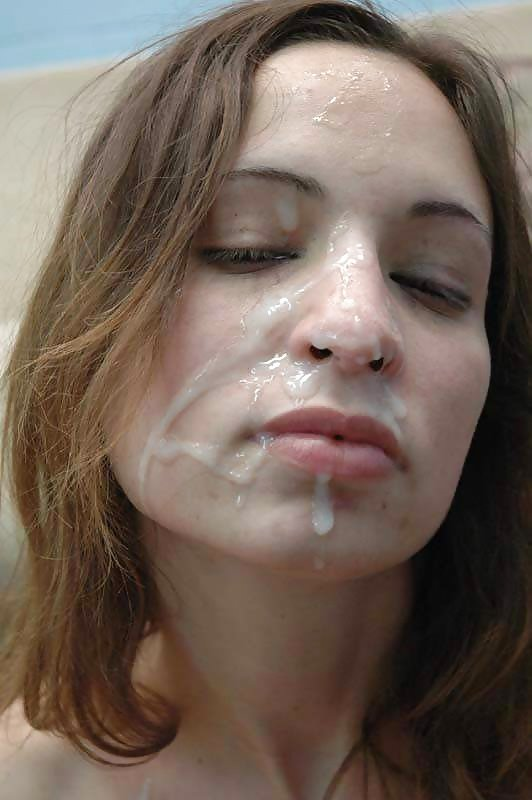 girl-poses-with-cum-on-face