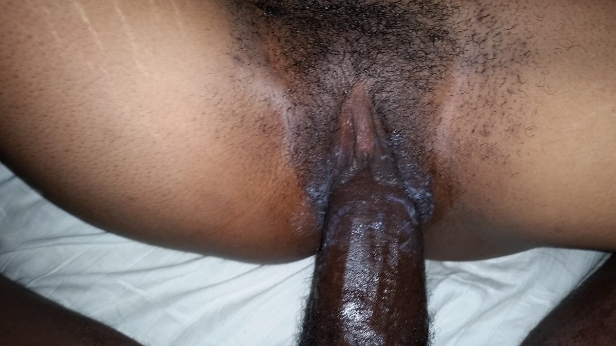 Tight black hairy pussy have hit