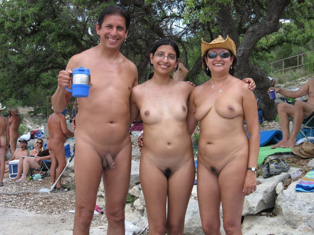 indian nudist family