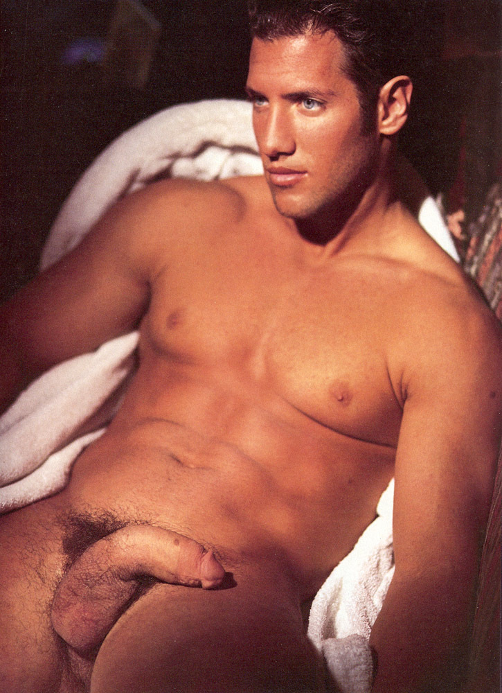 Playguy gay adult magazine centerfold