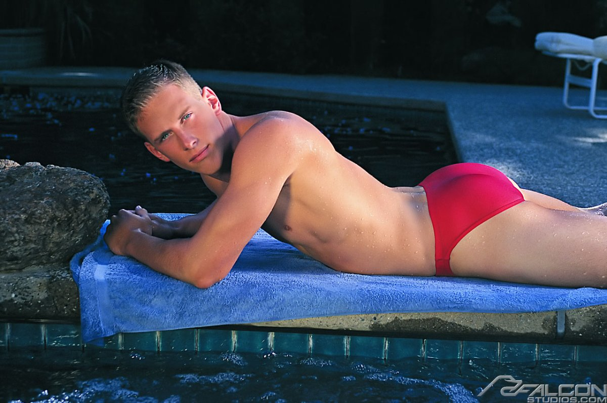 Wet speedo asses 9
