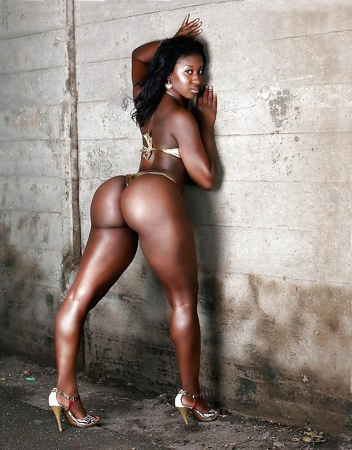 Naked hot black girls ass — 6