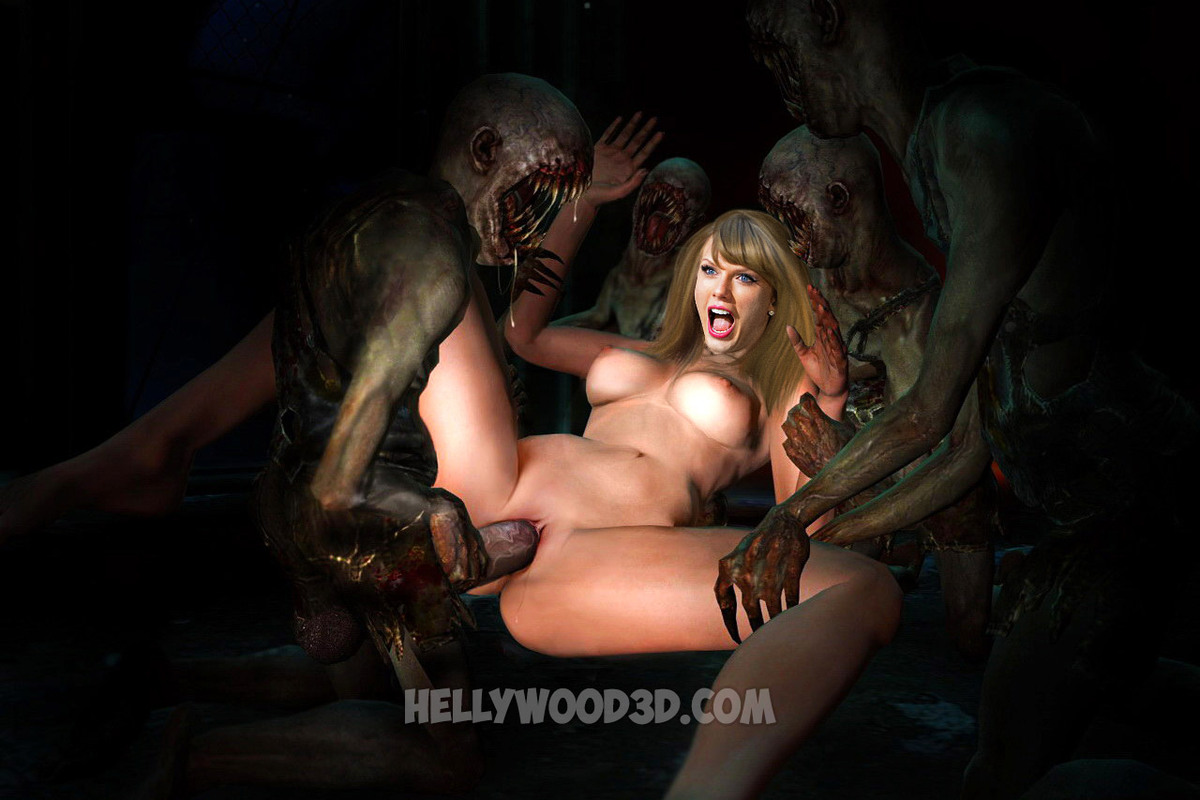 Zombies Fuck Celebs Shocking 3D Hentai, Photo Album By -3622