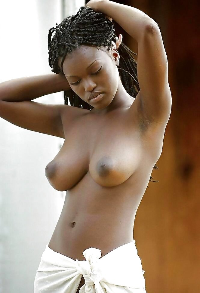 black-girl-breast-nude