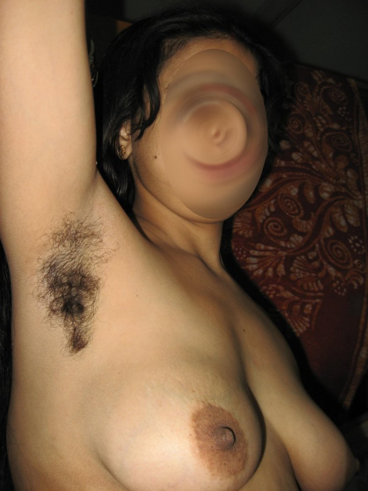 Man armpit aunty hairy naked hard self