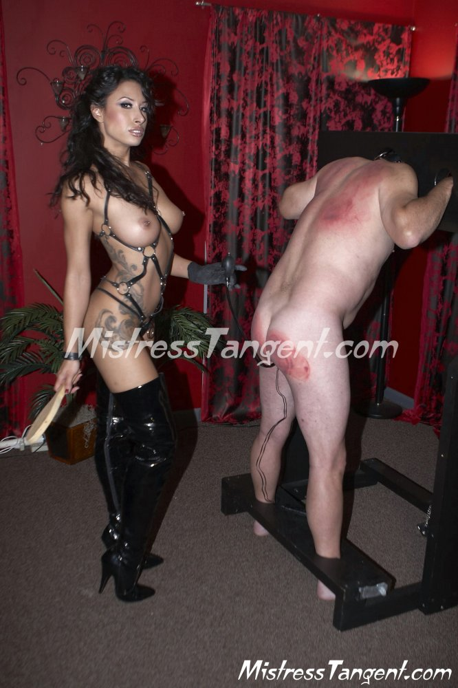 Mistress tangent bisexual domination strapon and torture - 2 part 3