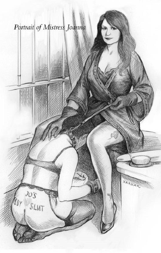 Femdom panty slave