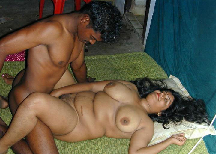 Malayali Aunty Playing With Husband