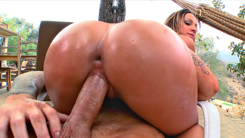 Bigtitted latina tgirl doggystyled by bbc