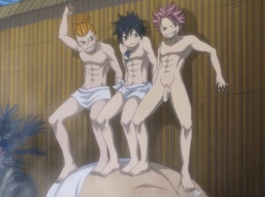 Watch Fairy Tail Yaoi gay porn videos for free