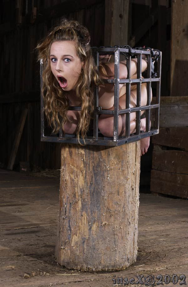 Female bondage slaves in cages stories