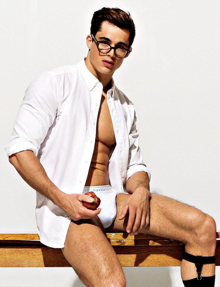 Sexy male teacher models — pic 11