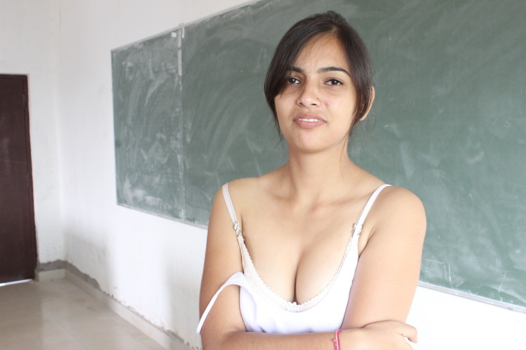 College girl fucked in classroom