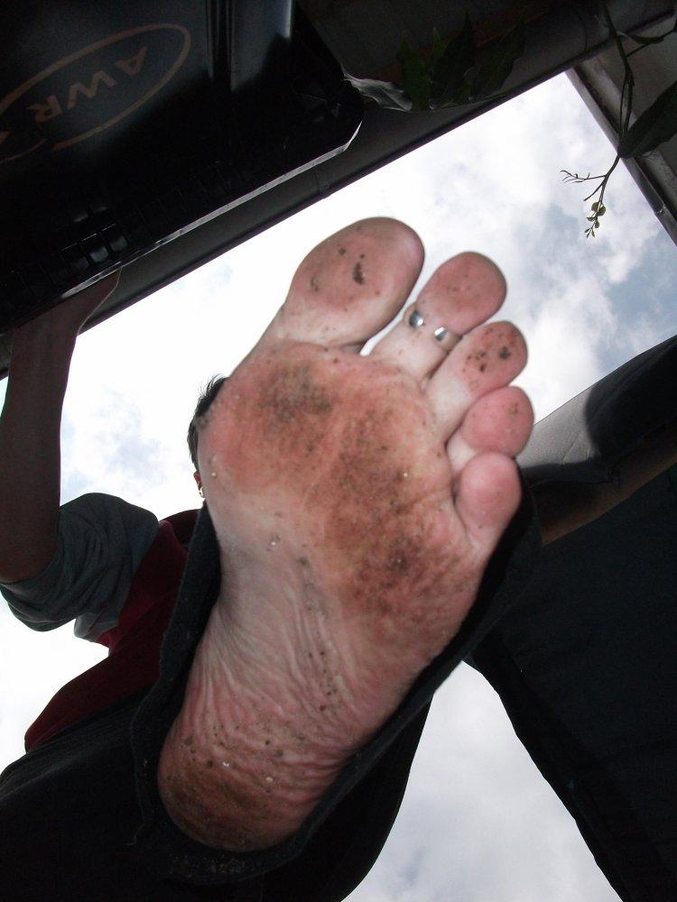 foot male Asian