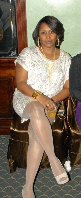 Black Women In White Stockings And Pantyhose, Photo Album -8526
