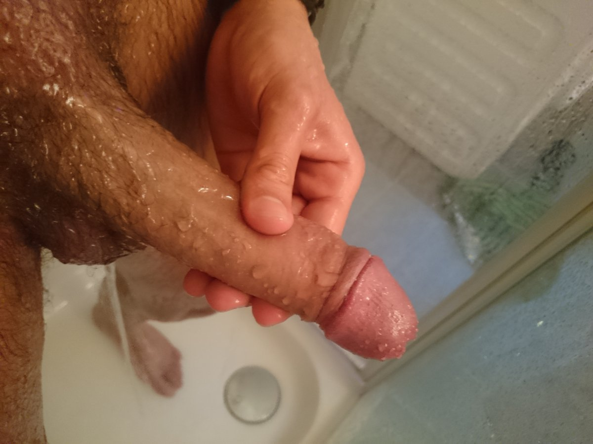 Cock in the shower