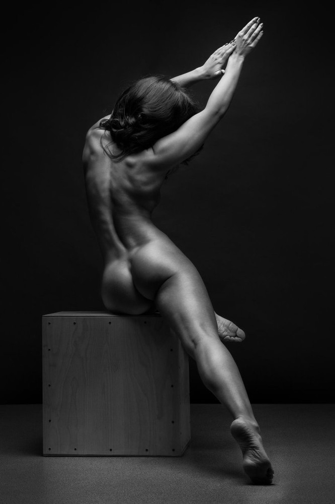 Fine Art Nude Print Female Model Naked Black White Gotporn Com 1