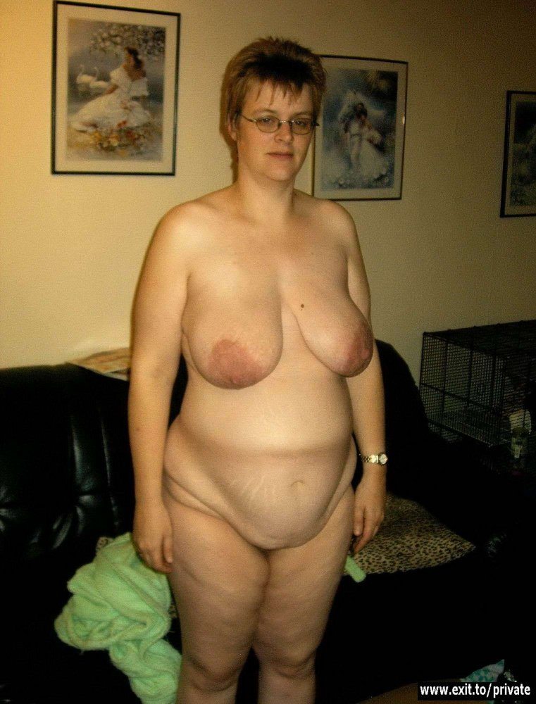 Topless nude photo