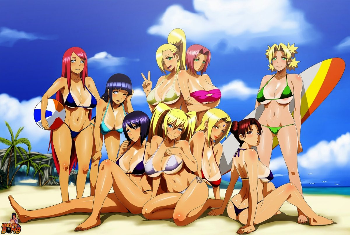 Sexy naruto girls naked cute