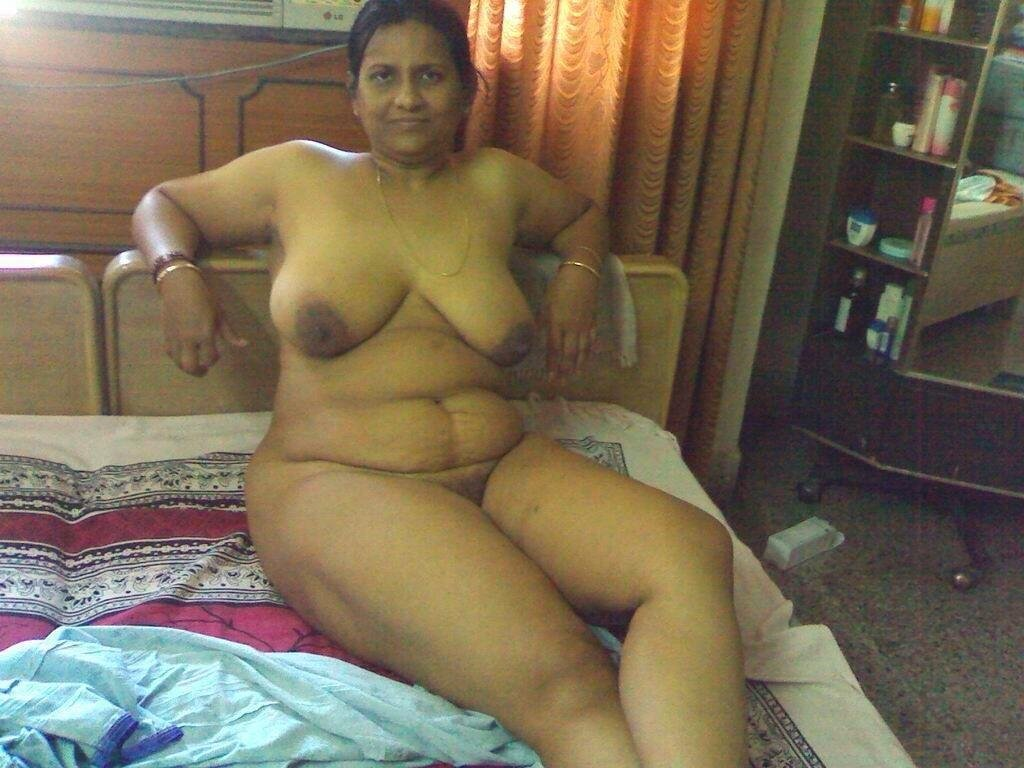 Mature Sex  Chuby Naked Older Indian Women-9269