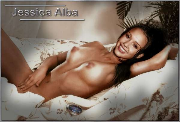 Jessica alba faked naked uncensored, flashing gif girl