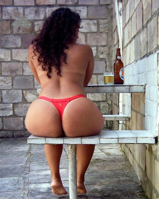 Girls naked asses with thongs