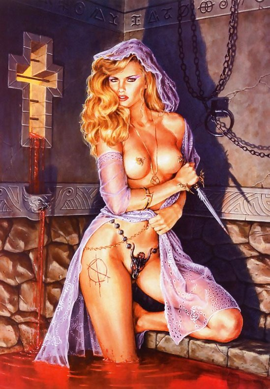 Fantasy and erotic sexy art pics — pic 8
