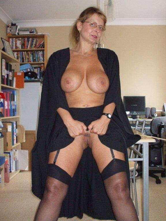 Busty english mistress with you