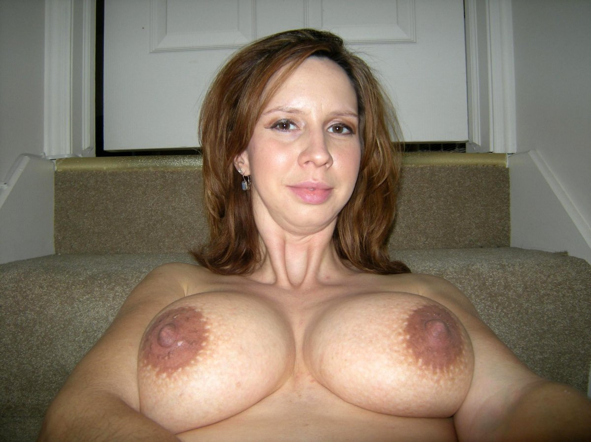 Amateur Red Head Big Tits
