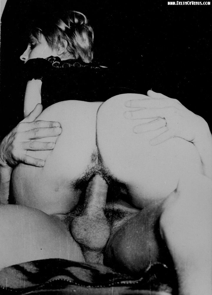 Black and white porn vintage that