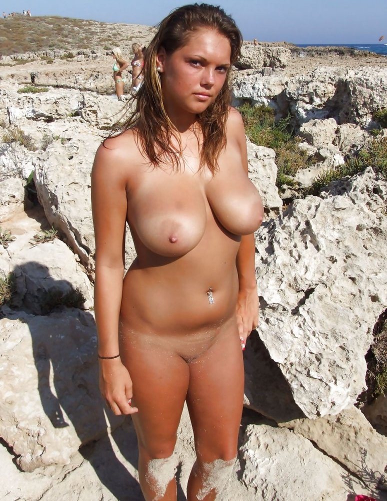 Think, that naked boobs on beach