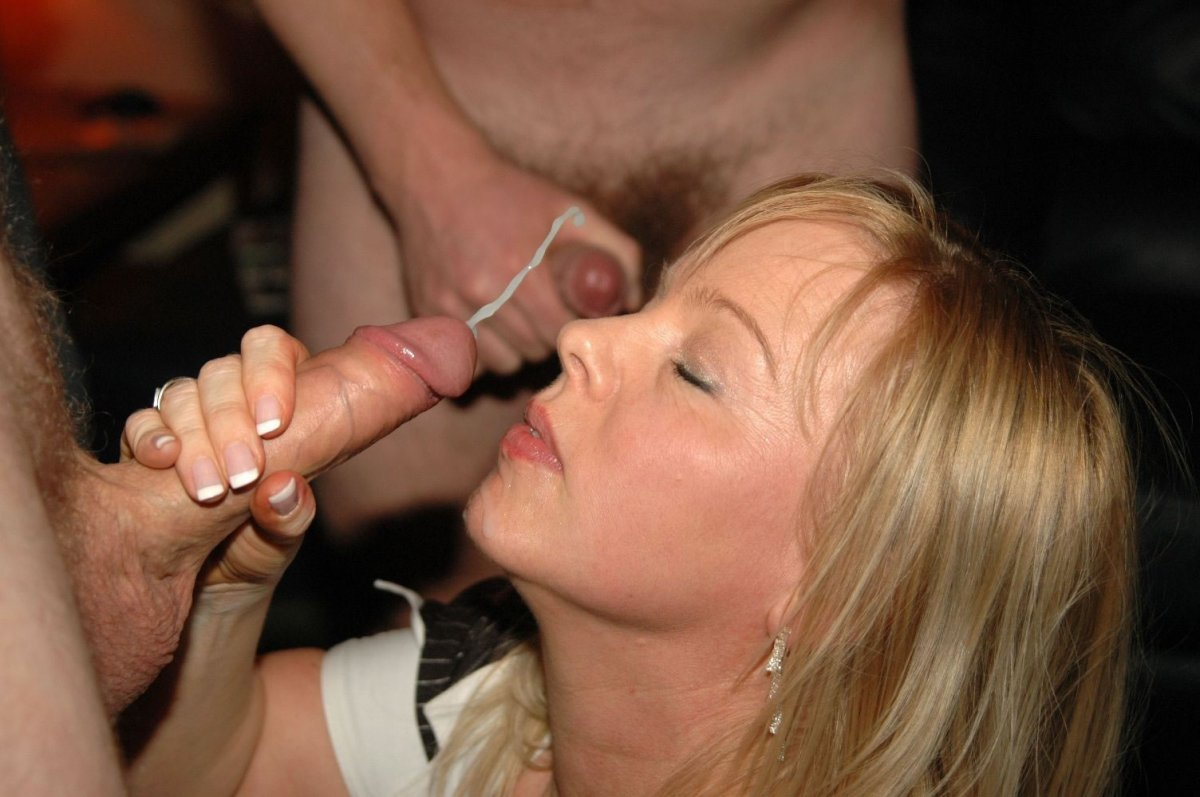 apologise, but does her first cumshot facial bukkake party topic, very much