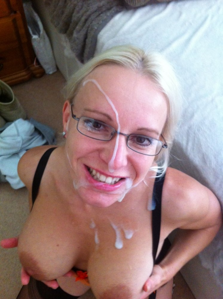 Mature Facial Cum Shot
