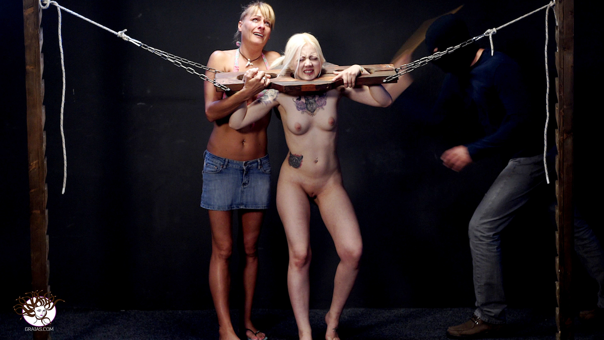 Incredible punishment 105 cane strokes 1