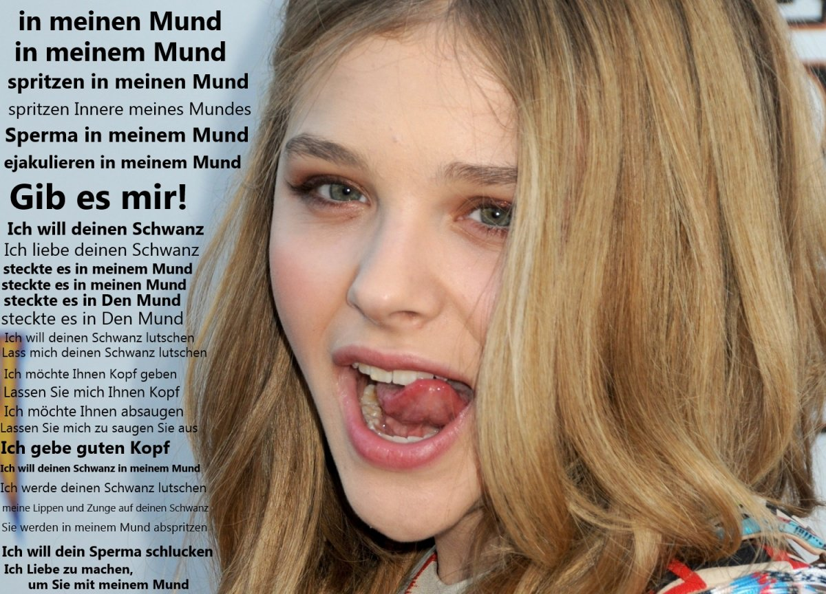 chloe moretz real naked with cum on face