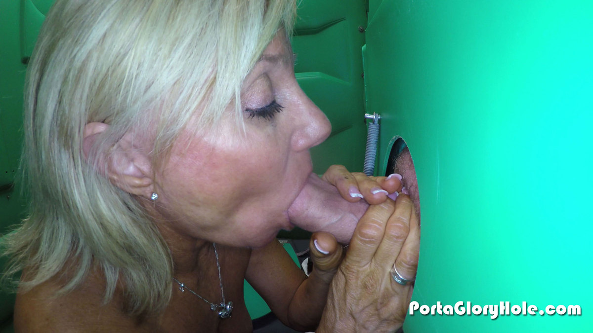 Mature blowjob gloryhole