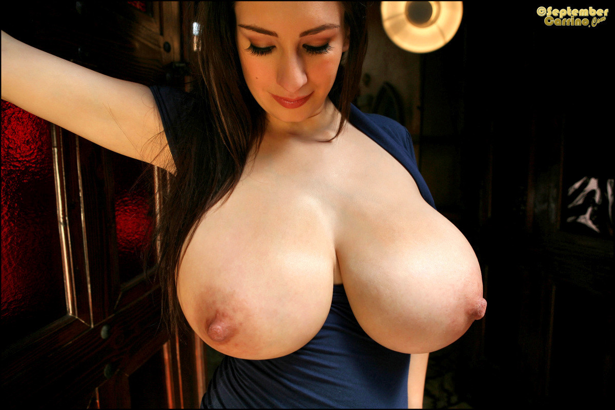 Dirty blond chick micky bells sets her massive tits free of her bra