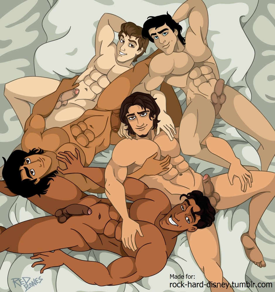pictures of naked disney princes