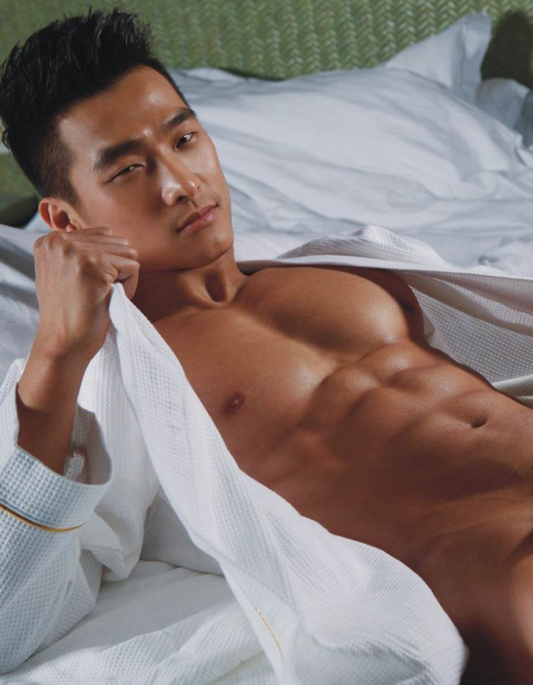 Nude men model asian 7