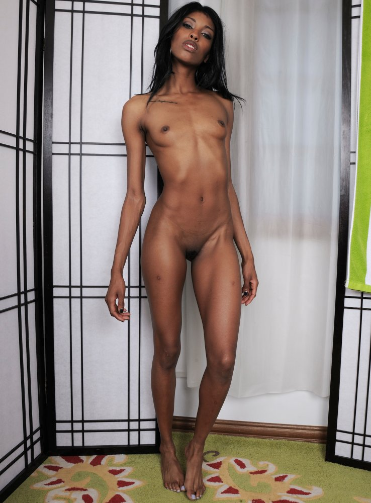 Mexican skinny naked girl