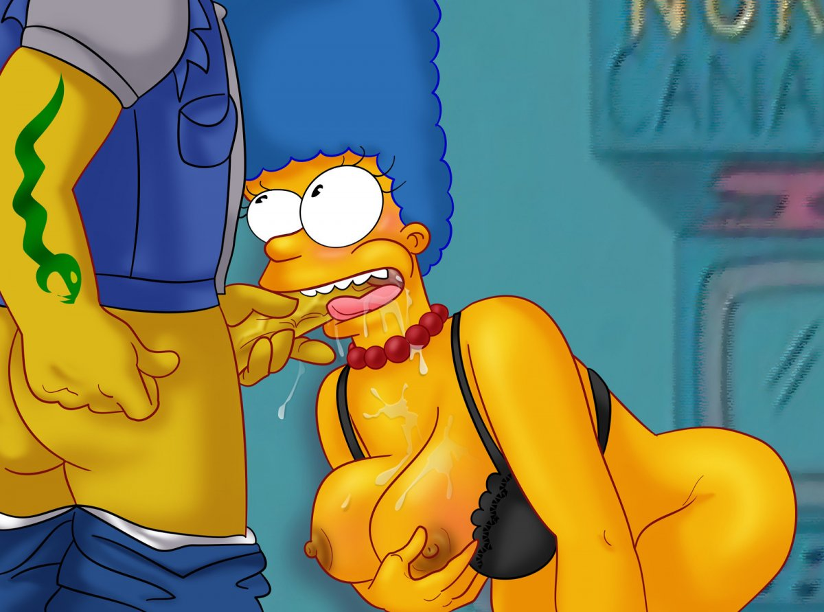 The simpsons sex tube