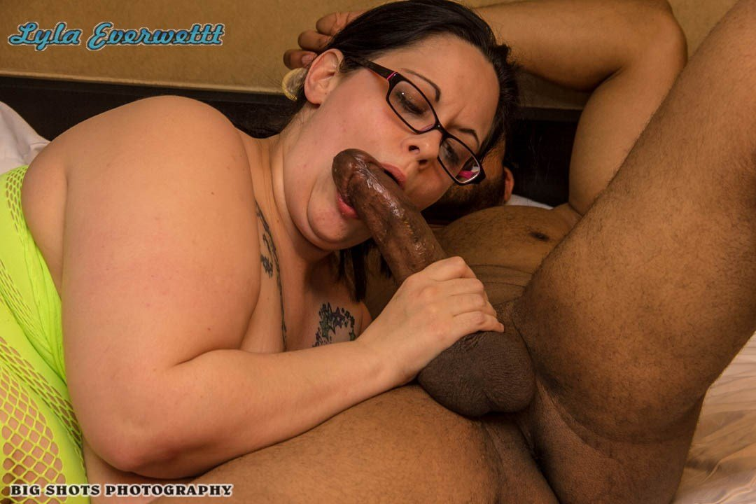 Bbw Bbc Interracial Blowjob