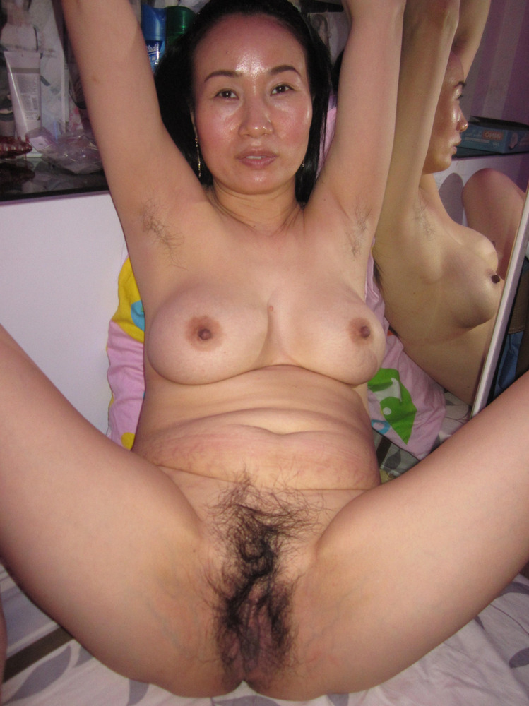 Hot amazing chinese woman nude in china and hairy