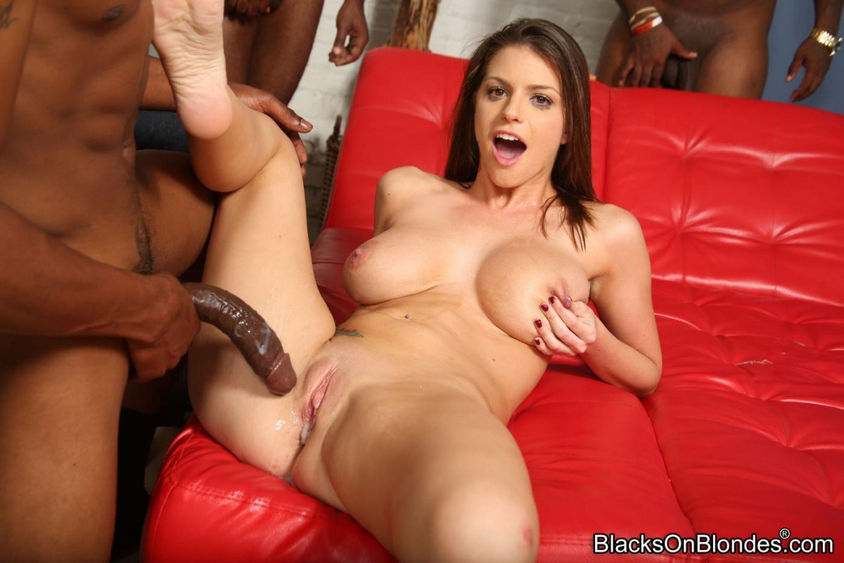 Creampie wife interracial
