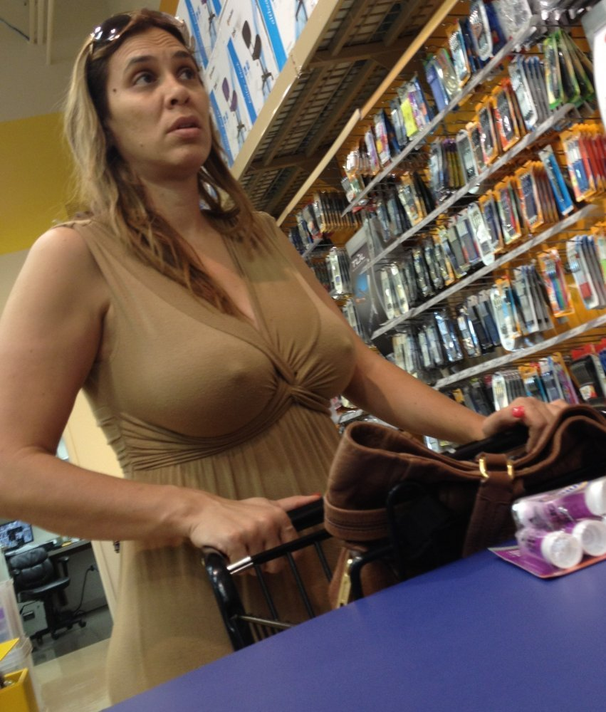 Milf With Hard Nipples At The Supermarket 22, Photo Album -9380