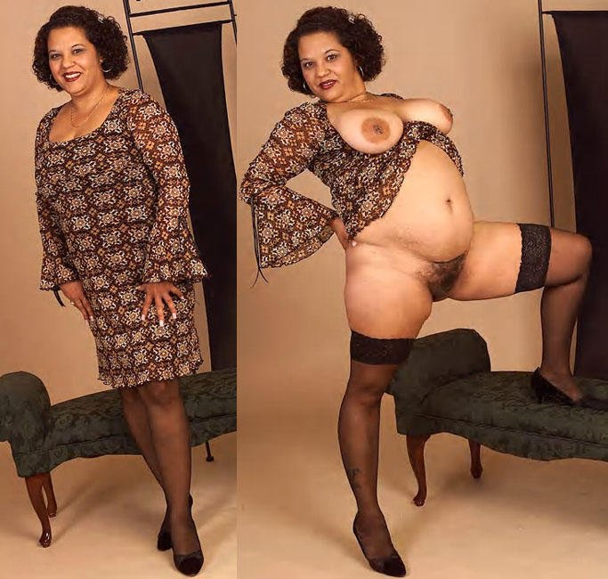Clothed mature