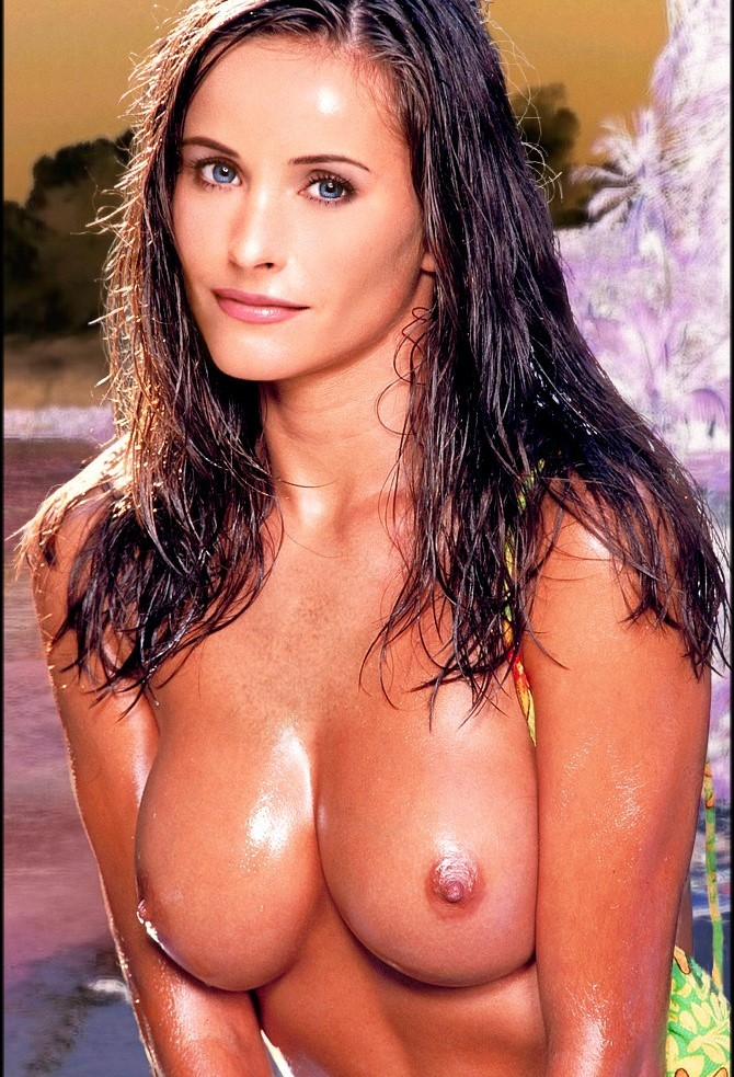 Courtney cox big tits