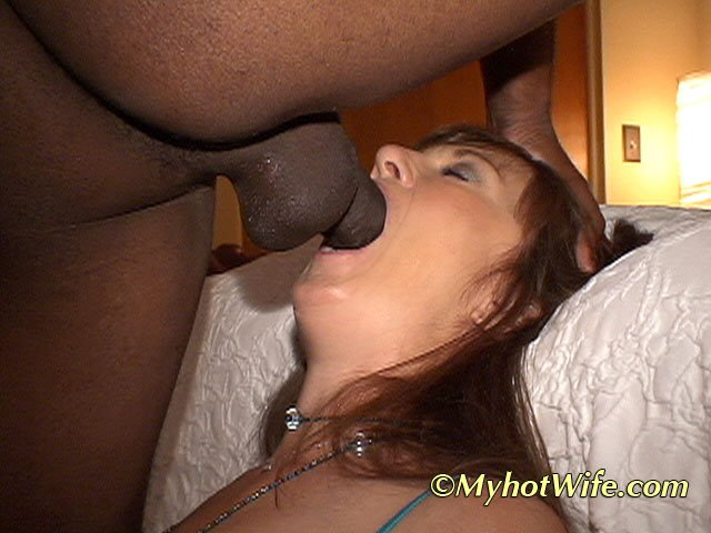 Double interracial penetration and facials