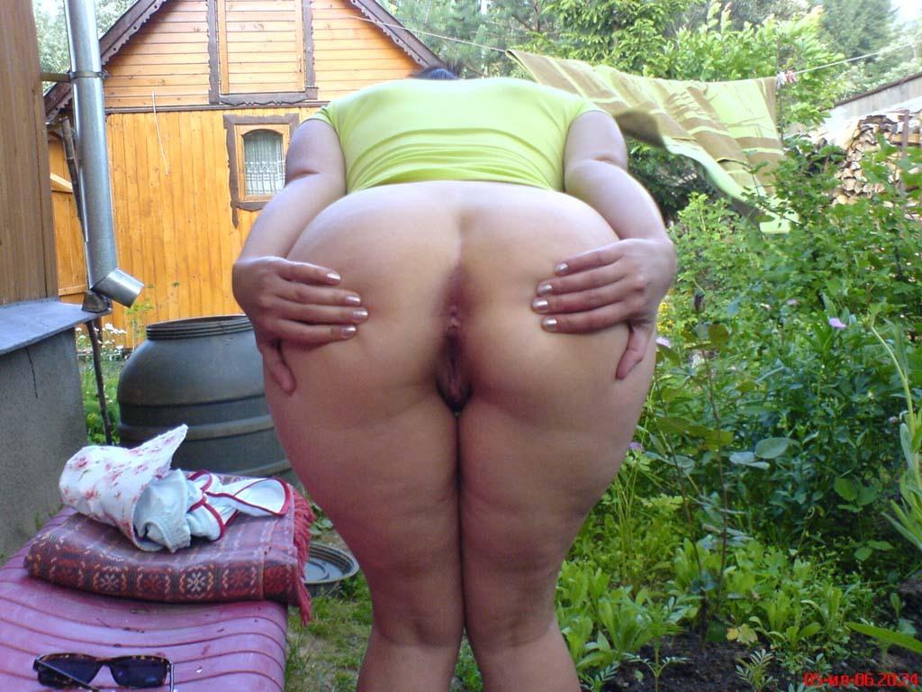 Домашний секс на дача попка