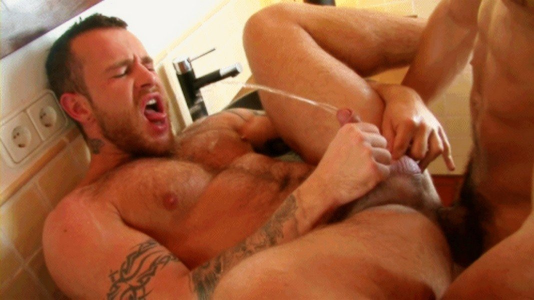 image Interracial gay pissing the lovely young